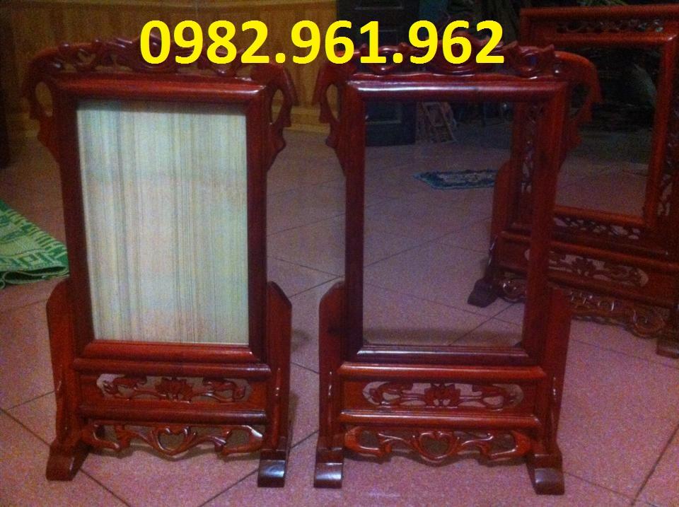 bán khung ảnh bằng gỗ hương