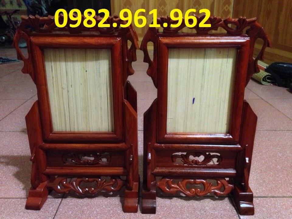 bán khung ảnh bằng gỗ mít