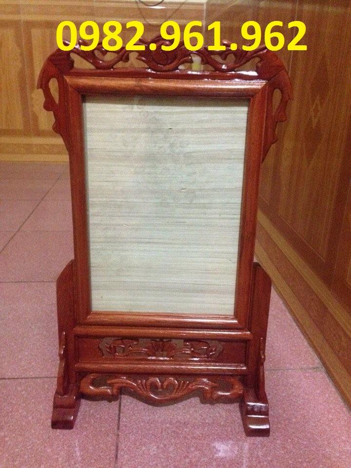 khung ảnh bằng gỗ hương