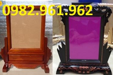khung ảnh thờ 20x30 gỗ mít
