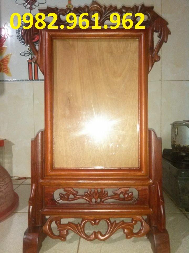 khung ảnh thờ 25x35 gỗ mít
