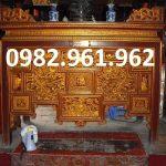 bàn thờ ô xa gỗ gụ