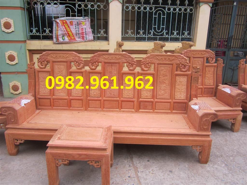 ghế hộp tai voi gỗ hương