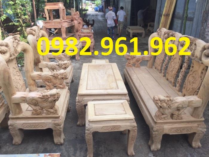 ghế phòng khách minh đào gỗ hương mộc