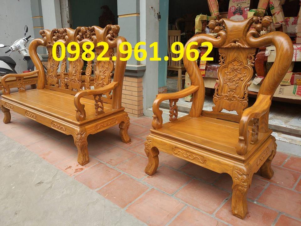 mẫu ghế gỗ tay voi