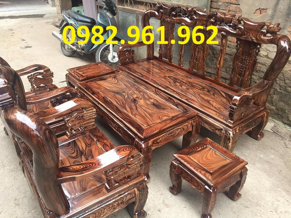 mẫu ghế tay voi gỗ gụ