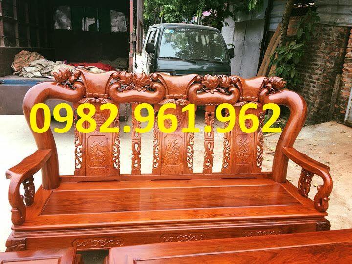 mẫu ghế tay voi gỗ hương đỏ
