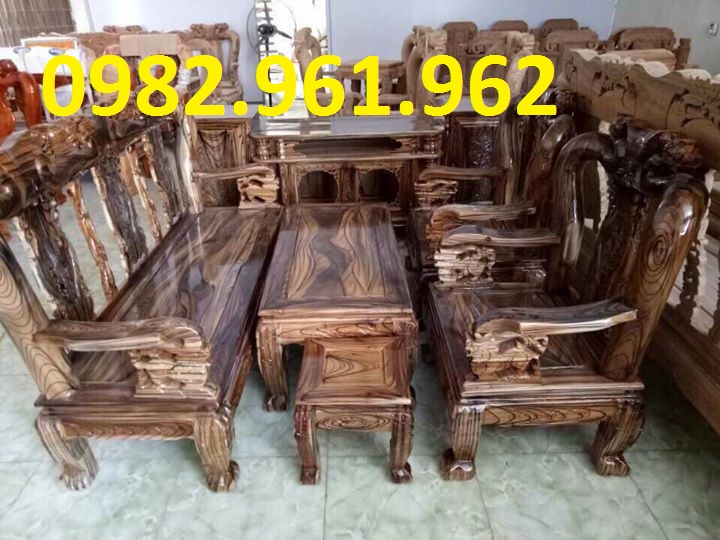 mẫu ghế tay voi gỗ mun