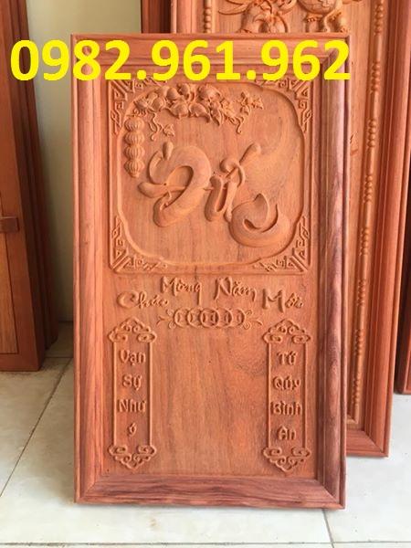 Đốc lịch gỗ chữ đức
