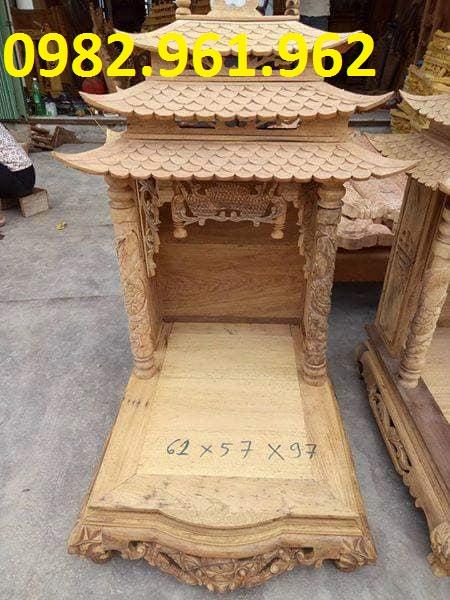 bàn thờ thần tài 3 mái