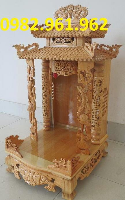 bàn thờ thần tài thổ địa bằng gỗ