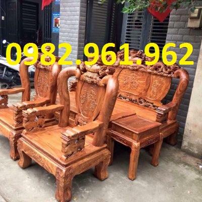 bán bàn ghế minh đào tay 10