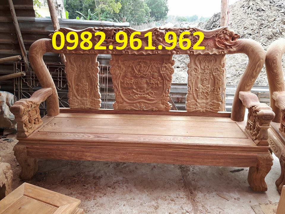 bán bộ bàn ghế minh đào tay 14