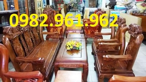 bộ bàn ghế minh quốc 8 món