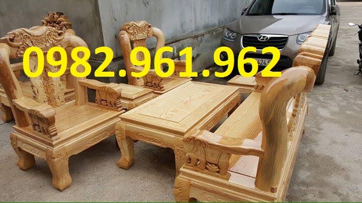 bộ ghế minh đào gỗ mít