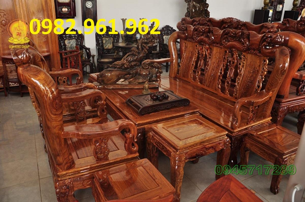 bộ ghế minh đào tay 16
