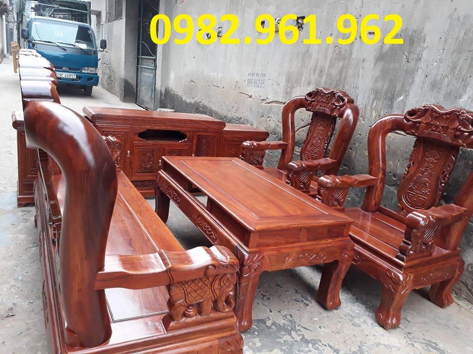 bộ ghế minh đào tay gỗ