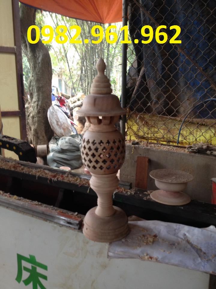 cơ sở sản xuất đèn thờ gỗ