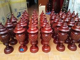 chuyên sản xuất đèn thờ gỗ