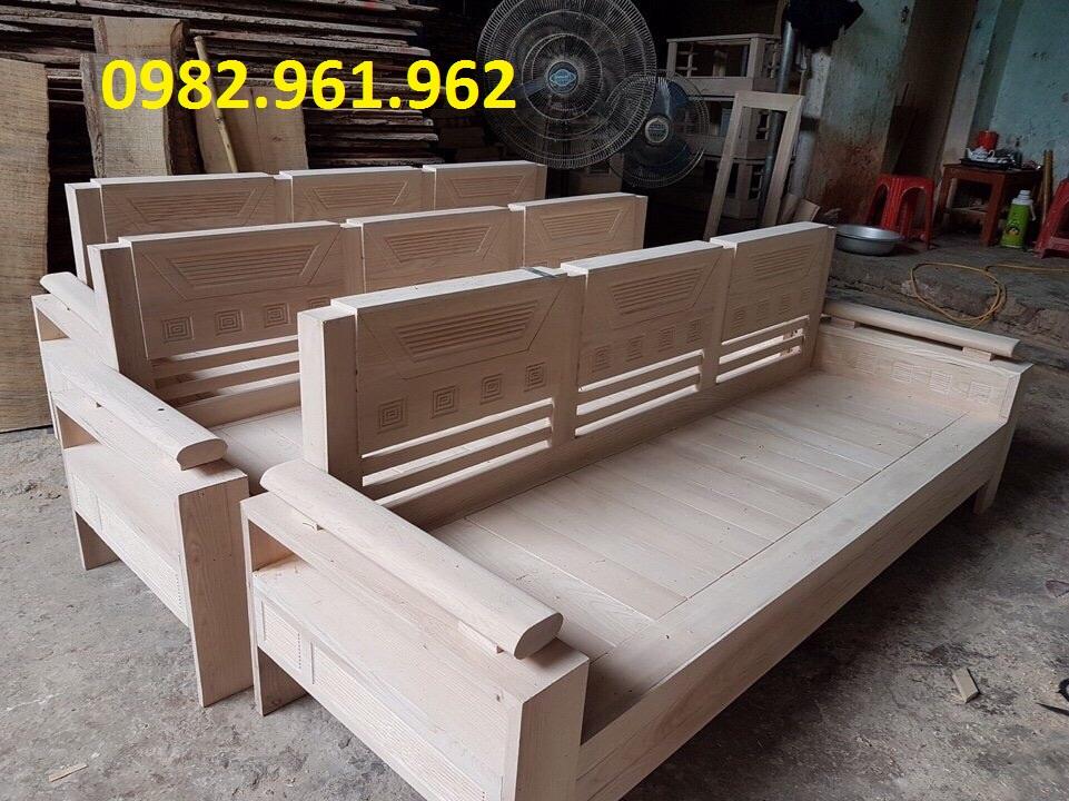 bộ bàn ghế gỗ tân bì