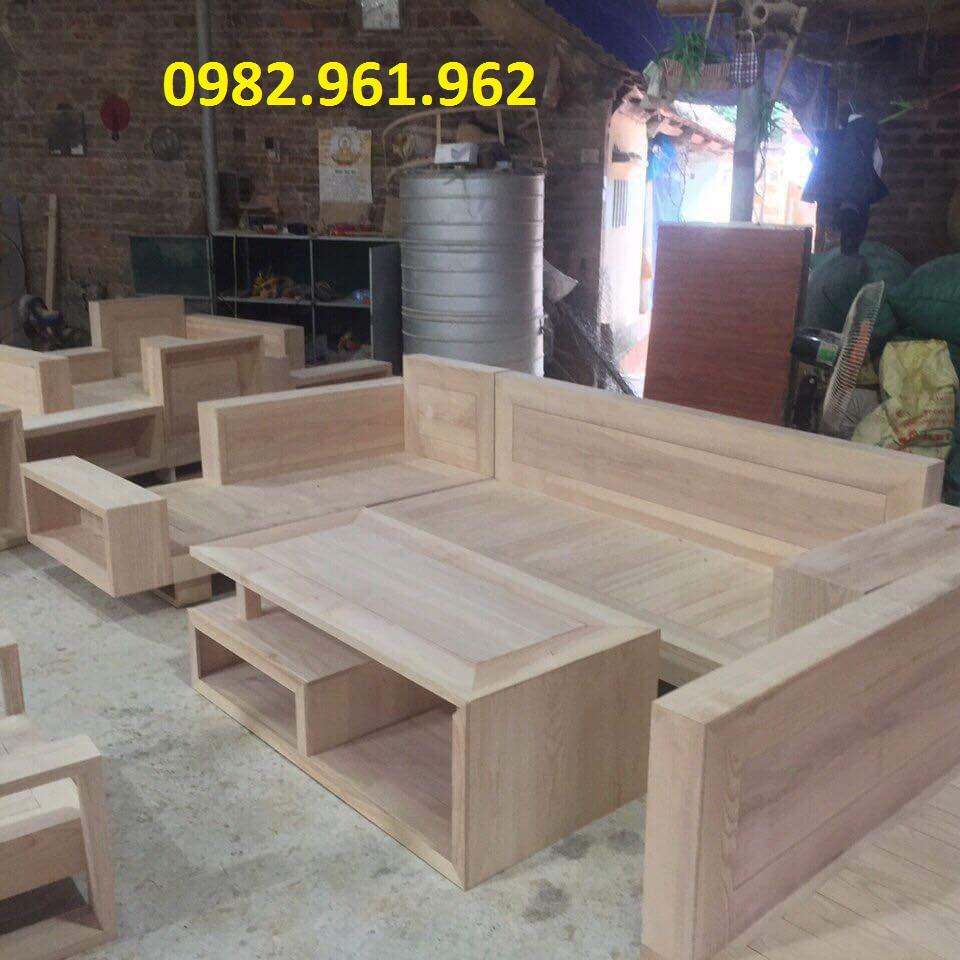 bộ ghế gỗ tân bì