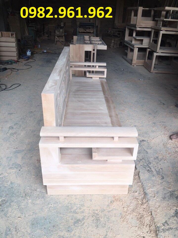 bộ ghế sofa gỗ tân bì