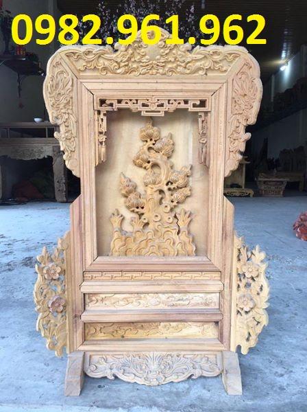 giá gương bằng gỗ hương
