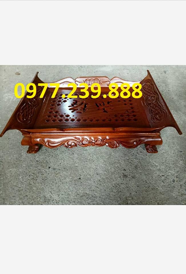 bán Khay trà gỗ hương cuốn thư