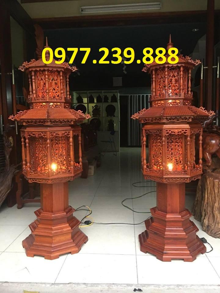 đèn thờ mái chùa 1,2m