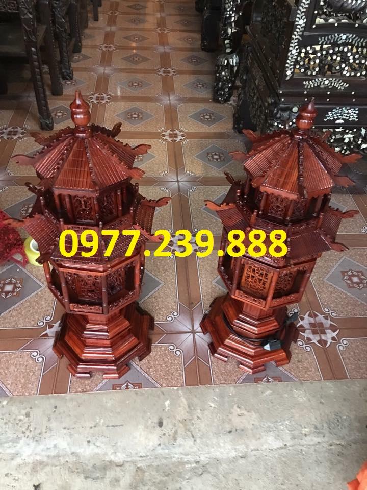 đèn thờ mái chùa 61cm