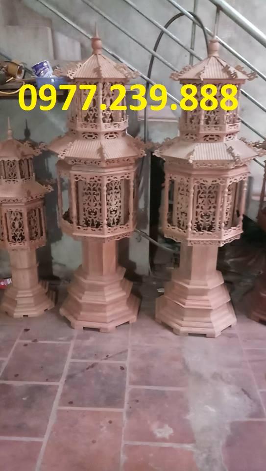 đèn thờ mái chùa cao 1,6m